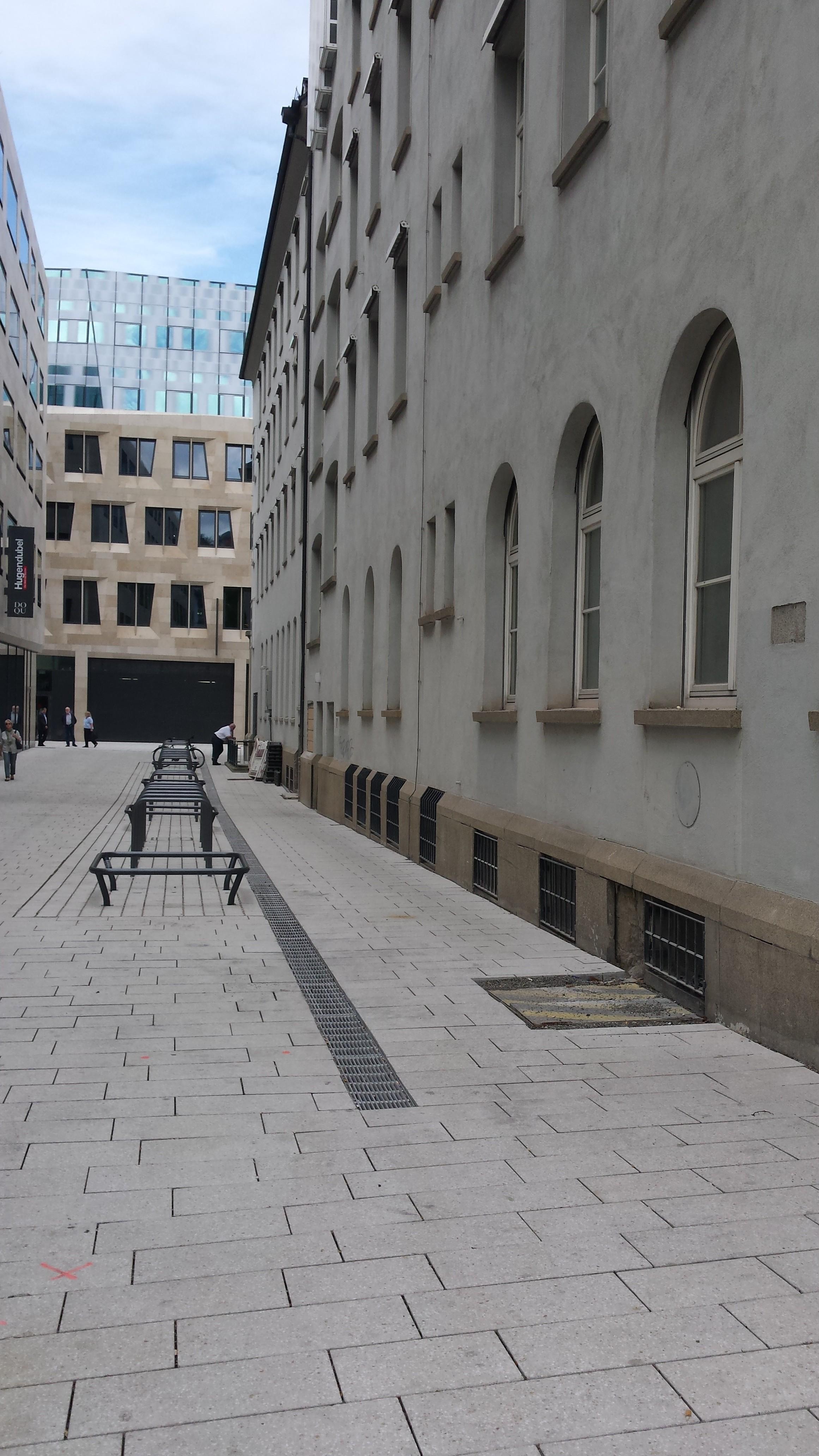 Die Strasse hinterm Hotel Silber heißt jetzt Else-Josenhans-Straße