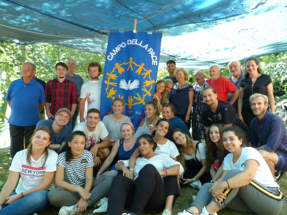 03. bis 14. August 2019: Friedenscamp in Sant´Anna di Stazzema, Italien 2019