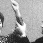 Beate Klarsfeld im Bundestag in Bonn 1968