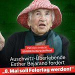 Der 8. Mai soll ein Feiertag werden - Petition der Holocaust-Überlebenden Esther Bejarano
