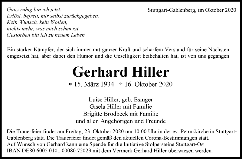 Gerhard-Hiller-Traueranzeige-d1d6eac5-e7f1-4fae-9eb2-696e6c4ba752