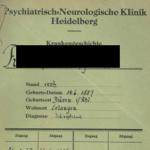 Forschungsprojekt von Claudia Weinschenk M.A.: Auffindbarkeit lesbischer Frauen in Psychiatrien im Nationalsozialismus