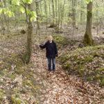 Splittergraben für Zwangsarbeiter im Stadtwald Zuffenhausen, Foto: Möller