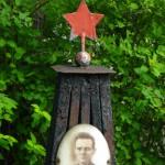Grab eines Soldaten der Roten Armee, Foto Jörg Munder