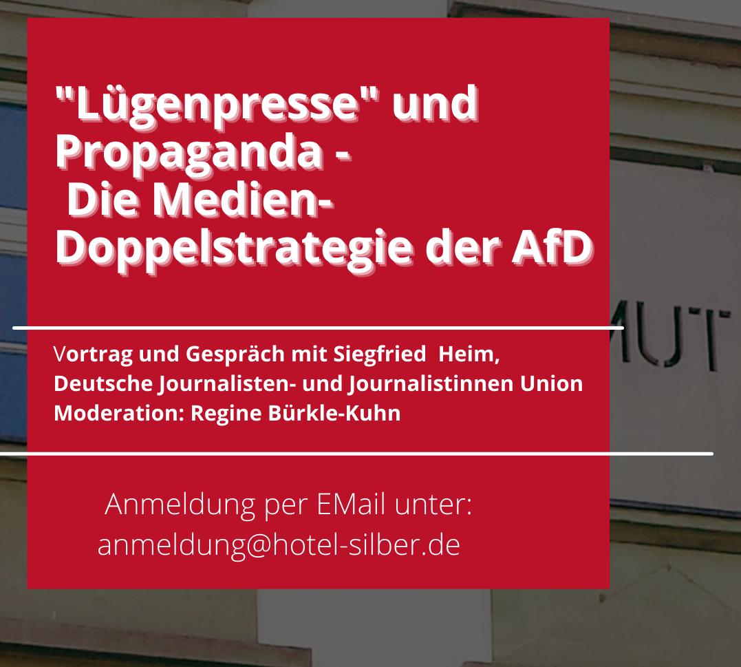 """14. September:  """"Lügenpresse"""" und Propaganda"""